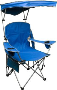 Quick-shade-adjustable-canopy-folding-beach-or-camping-chair
