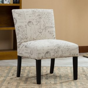 Roundhill-Furniture-Botticelli-English-Letter-bedroom-chair, small-spaces
