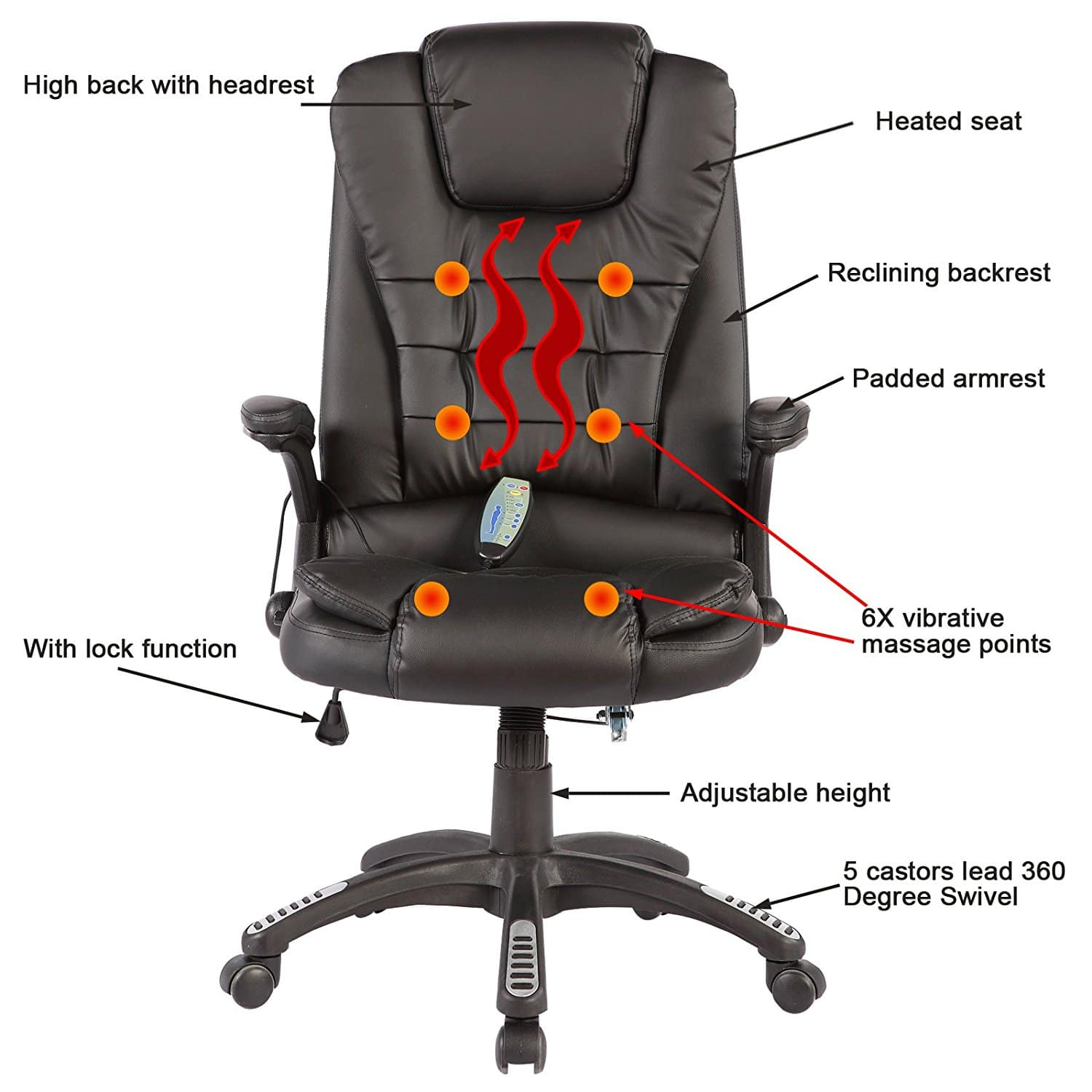 Top 3 Heated Office Chairs (And a Bonus!) - Reviews 2020