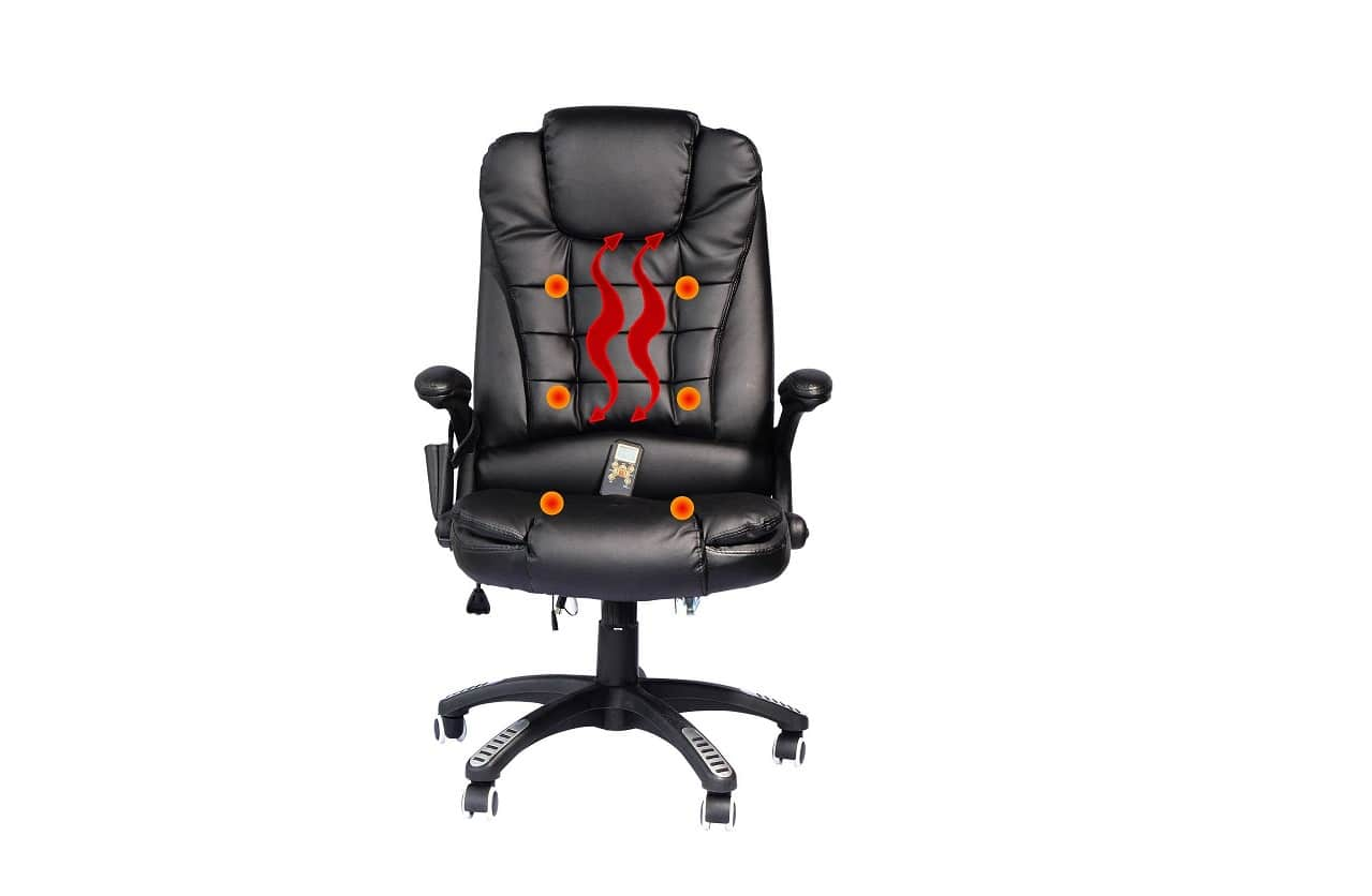 Stupendous Top 3 Heated Office Chairs And A Bonus Reviews 2019 Creativecarmelina Interior Chair Design Creativecarmelinacom